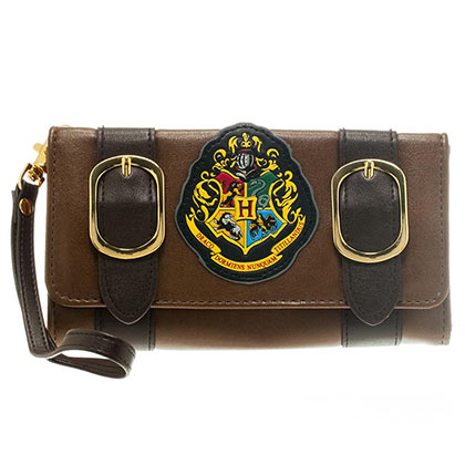 Harry Potter Satchel Trifold Clutch Wallet