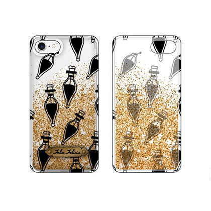 Harry Potter Felix Felicis Gold Glitter iPhone 6 / 7 / 8 Phone Case
