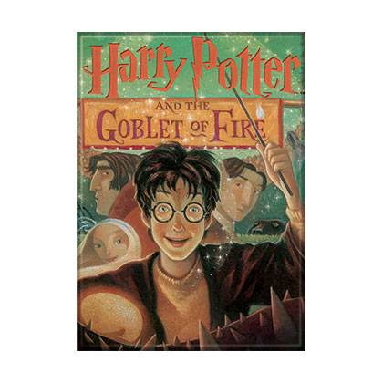 Harry Potter Goblet of Fire Book Cover Magnet