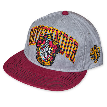 Harry Potter Men's Gray Gryffindor Snapback Hat