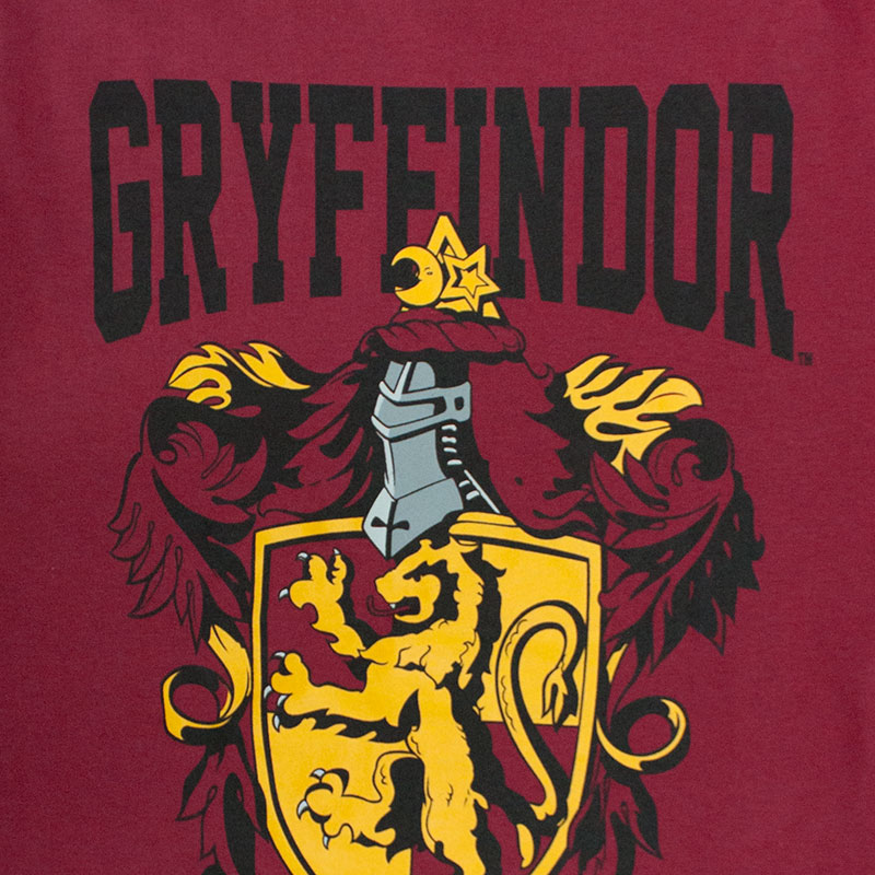 Harry Potter Men's Gryffindor Insignia Tee Shirt