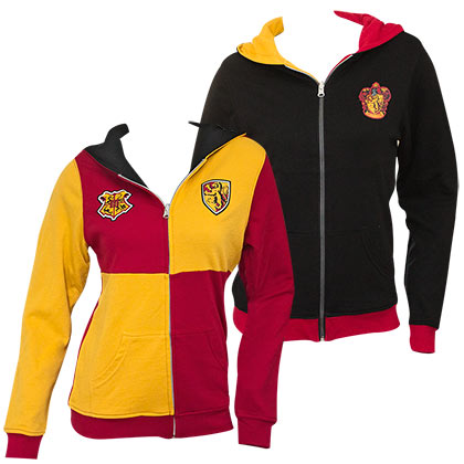 Harry Potter Reversible Womens Gryffindor Hoodie