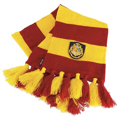 Harry Potter Knit Gryffindor Scarf