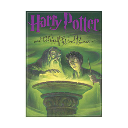 Harry Potter Half Blood Prince Book Cover Magnet