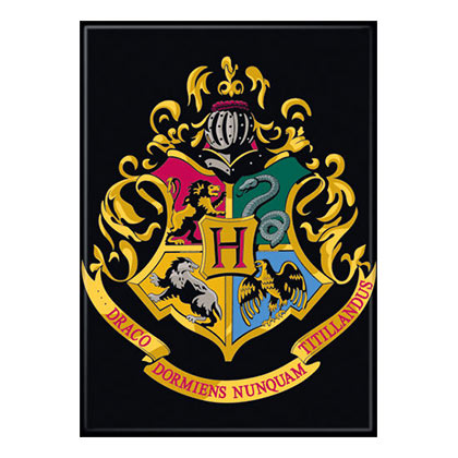 Harry Potter Hogwarts School Insignia Magnet