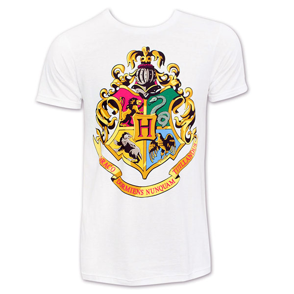 Harry Potter Hogwarts Houses Men's Tee Shirt ...
