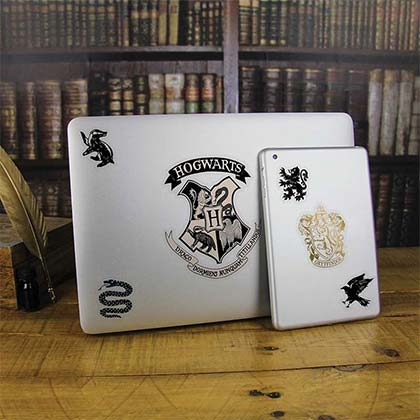 Harry Potter Hogwarts Laptop Decals