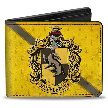 Harry Potter Yellow Hufflepuff Wallet