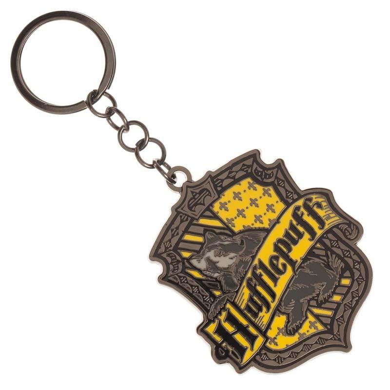 Harry Potter Hufflepuff Metal Keychain