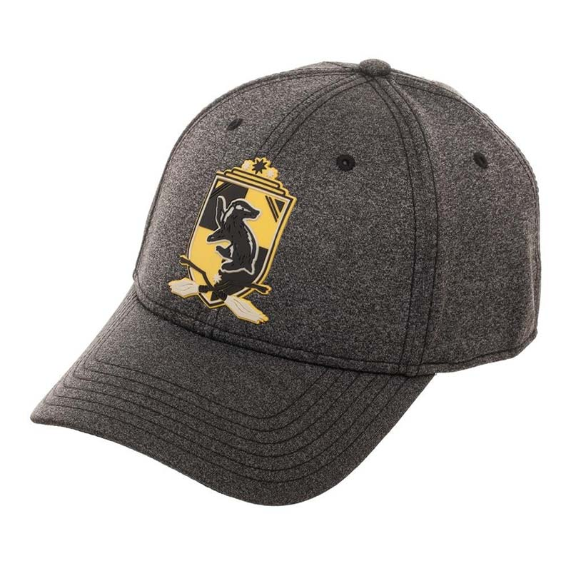 Harry Potter Grey Hufflepuff Flexfit Hat