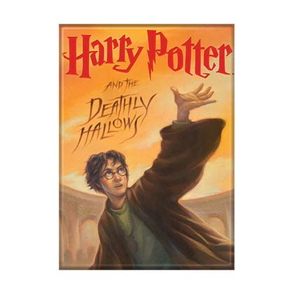 Harry Potter The Deathly Hallows Artwork Magnet