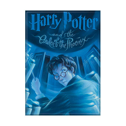 Harry Potter Order Of The Phoenix Book Cover Magnet