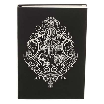Harry Potter Hogwarts Black Journal