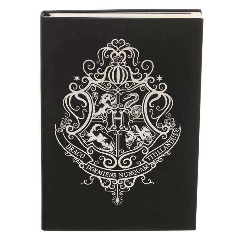 Harry Potter Hogwarts Black Journal Notebook