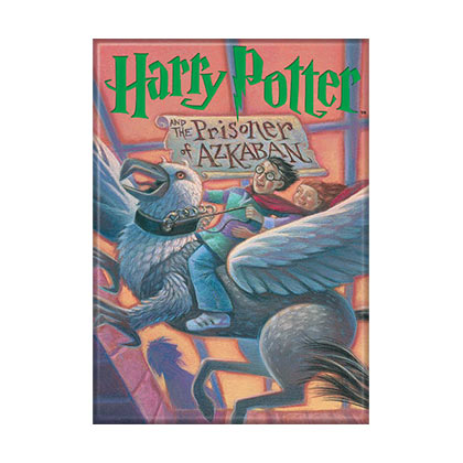 Harry Potter Prisoner of Azkaban Book Cover Magnet