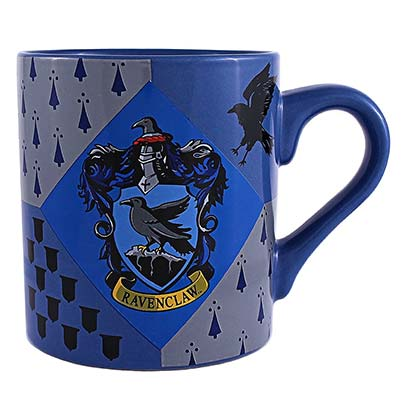 Harry Potter Black & Blue Ravenclaw Mug