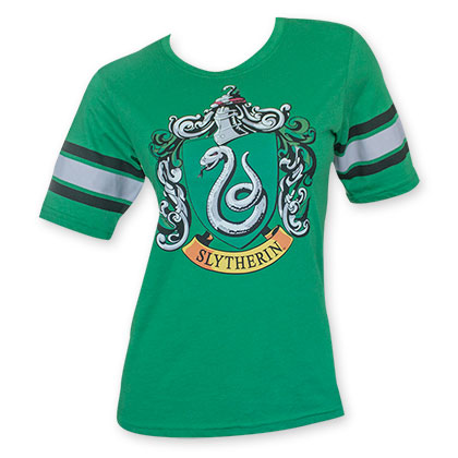 Harry Potter Slytherin Women's Green Tee Shirt