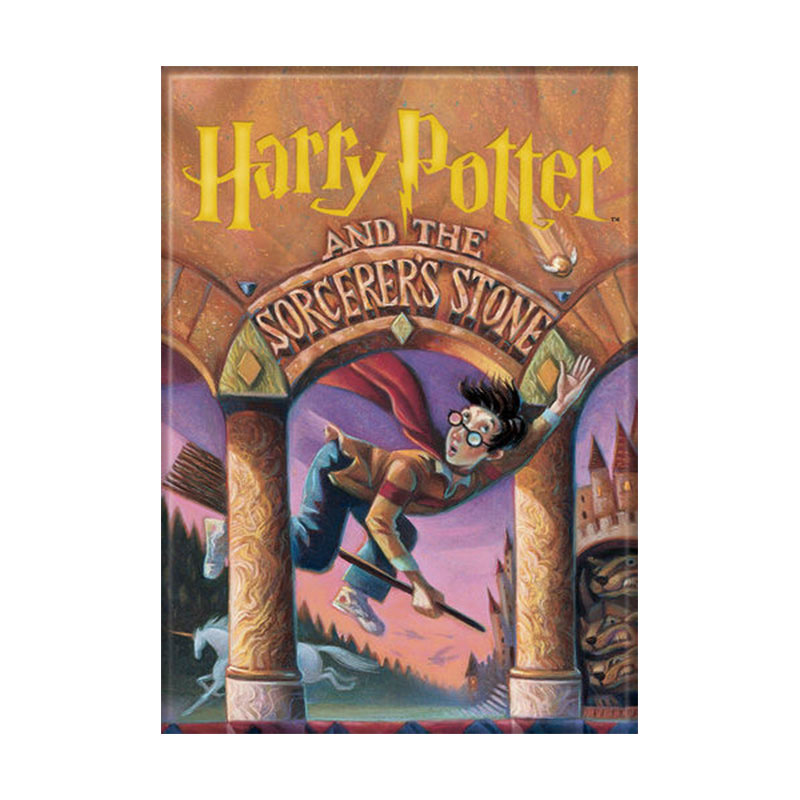 Harry Potter Sorcerer's Stone Book Cover Magnet