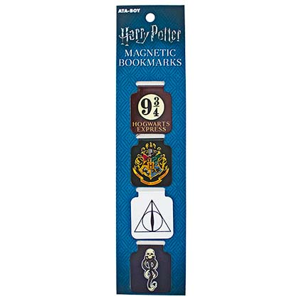 Harry Potter Symbols Magnetic Page Bookmarks Set Of 4
