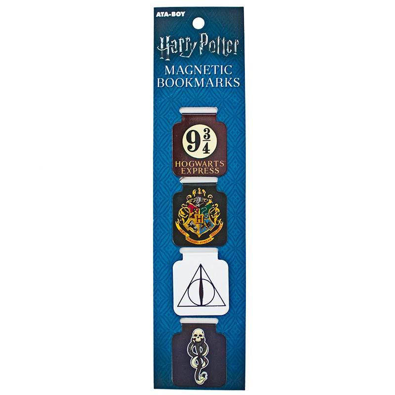 Harry Potter Symbols Magnetic Page Bookmarks Set Of 4