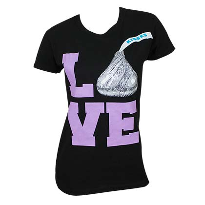 Hershey's Women's Love Tee Shirt
