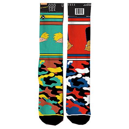 Hey Arnold Camo Men's Socks