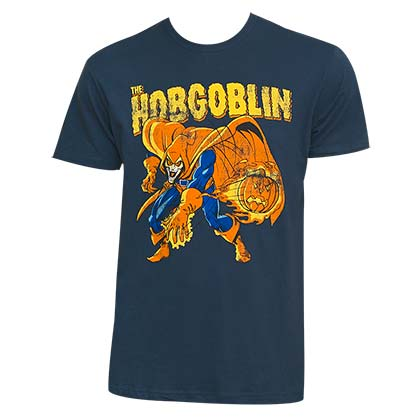Hobgoblin Men's Blue Pumpkin Bomb T-Shirt