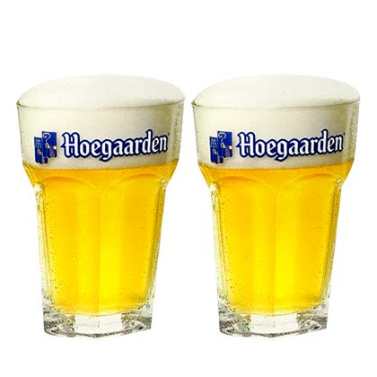 Hoegaarden 2 Pack Glasses