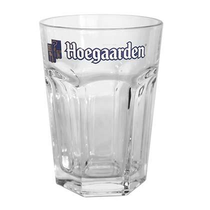Hoegaarden Logo Tumbler Glass