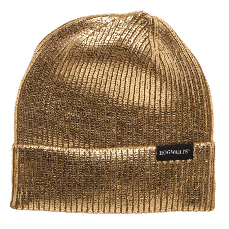 de5b595a818 Harry Potter Hogwarts Winter Gold Beanie