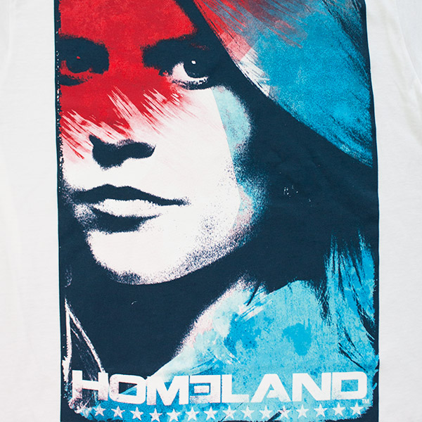 Homeland Patriotic Mathison TShirt - White