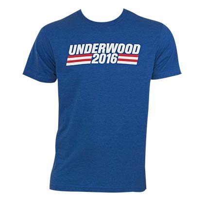 House Of Cards Underwood 2016 Tee Shirt