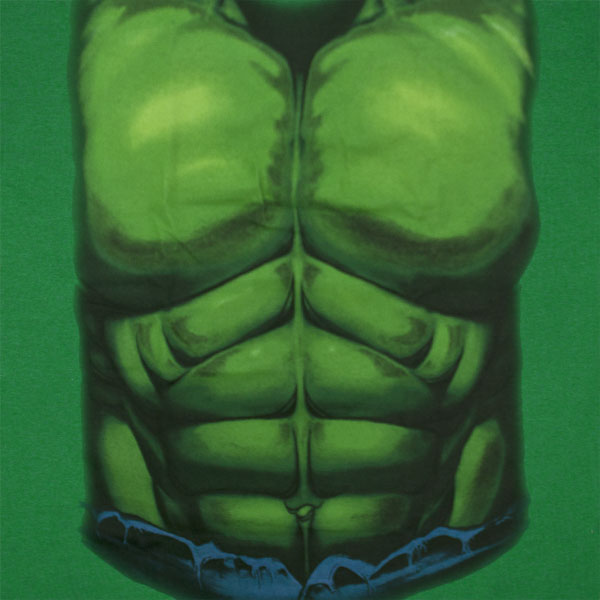 The Hulk Costume Shirt Green