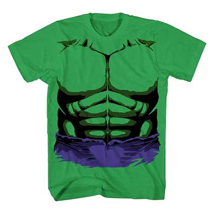 Hulk Boys Green Costume T-Shirt
