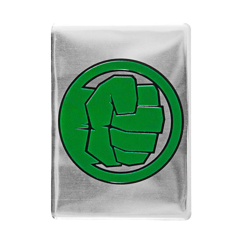 Hulk Fist Logo Metal Magnet