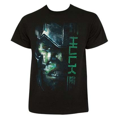 Thor Ragnarok Men's Armored Hulk Black T-Shirt