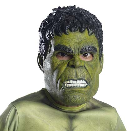 Hulk Latex Green Youth Mask
