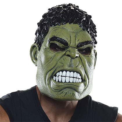 Hulk Latex Green Adult Mask