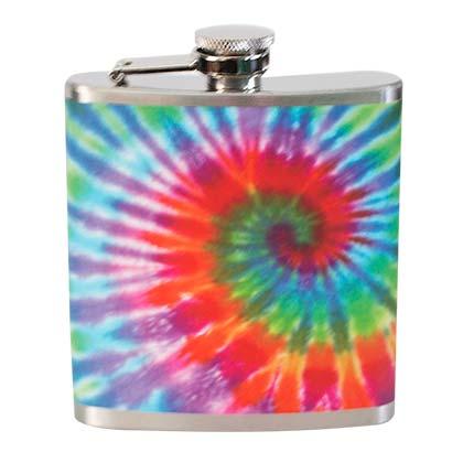 Tie Dye liquid Flask