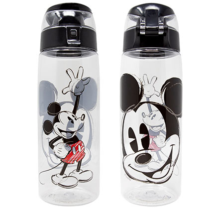 Mickey Mouse Plastic Travel Water Bottle