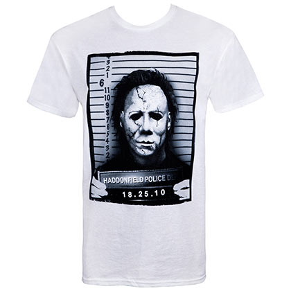 Halloween Mike Myers Mug Shot Tshirt