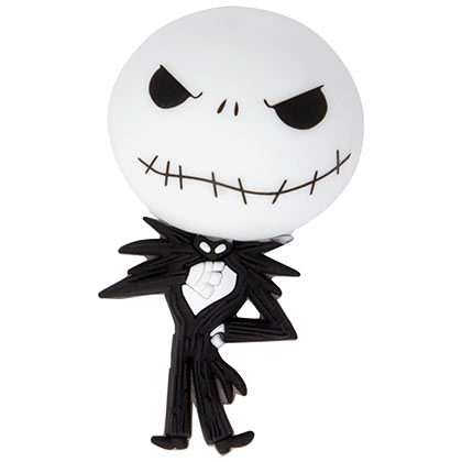 Nightmare Before Xmas 3D Foam Jack Magnet