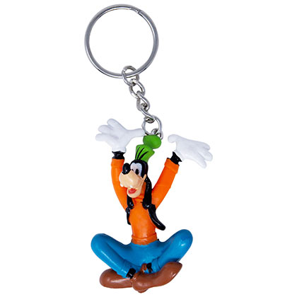 Goofy Cartoon Keychain