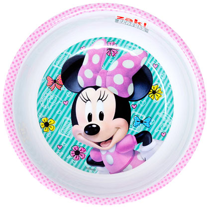 Minnie Mouse Plastic Bowl