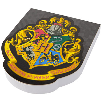 Harry Potter Hogwarts Insignia Note Pad