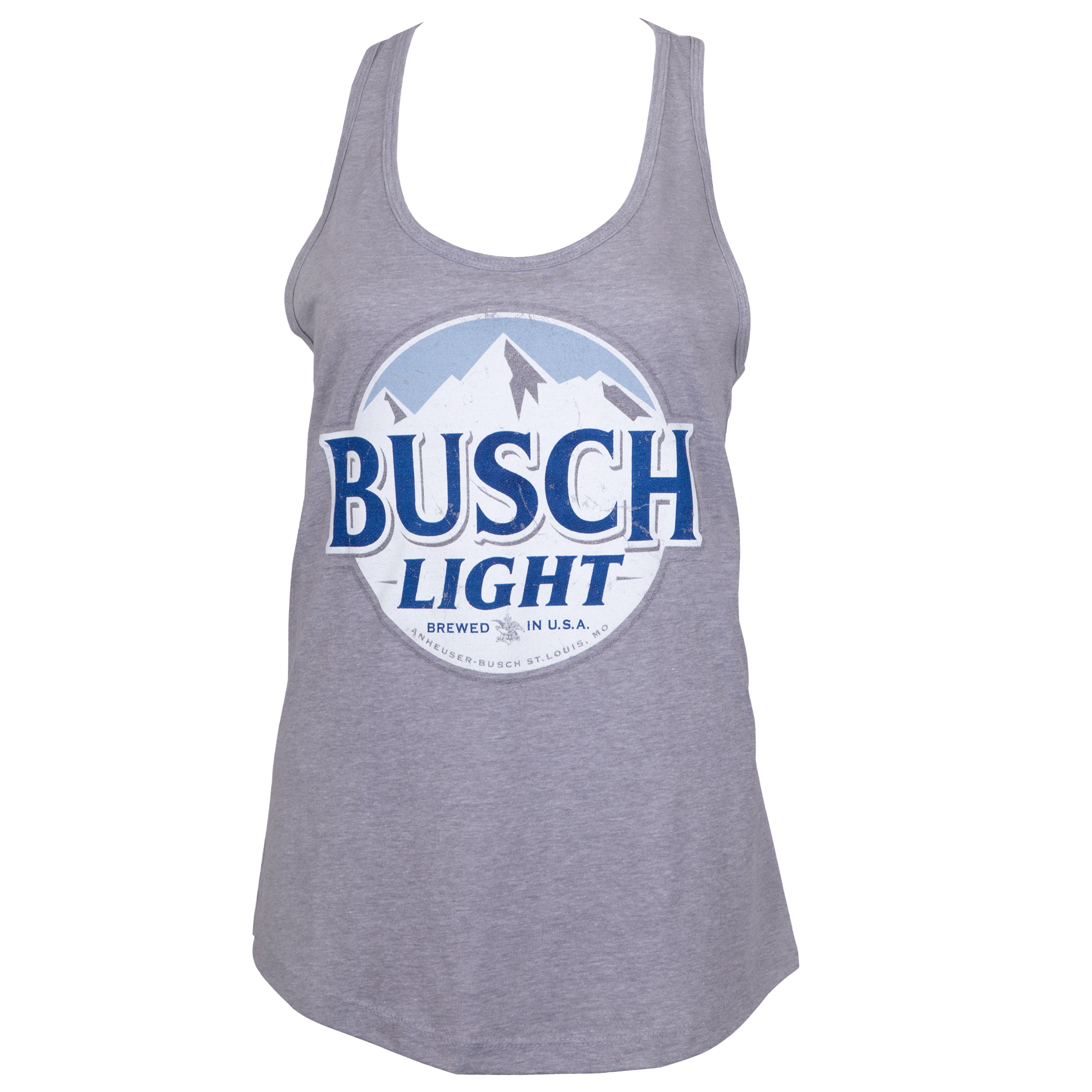 Busch Light Grey Ladies Tank Top