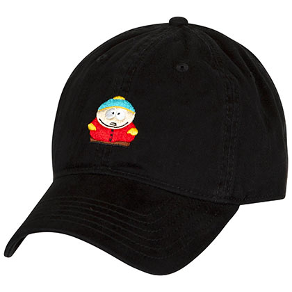 South Park Black Cartman Dad Hat