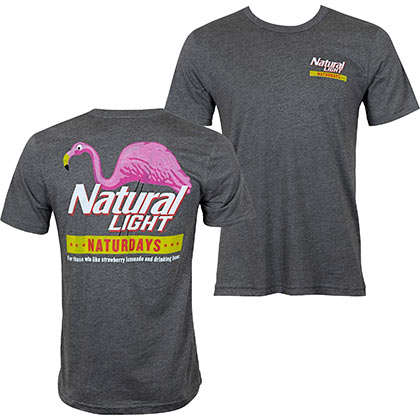 Natural Light Grey Natty Naturdays Men's T-Shirt