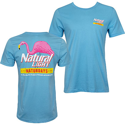 Natural Light Blue Natty Naturdays Men's T-Shirt