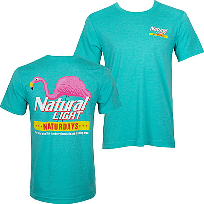Natural Light Green Natty Naturdays Men's T-Shirt